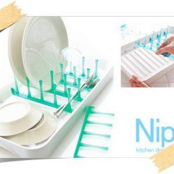 便利でかわいい水切りトレイ【Nip kitchen drainer】