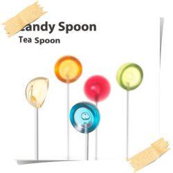 残念ながら食べられません・・・【キャンディー型スプーン】